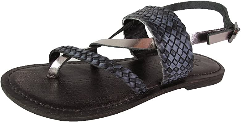 Freebird by Steven Womens Sea Braided Leather Sandal Shoes