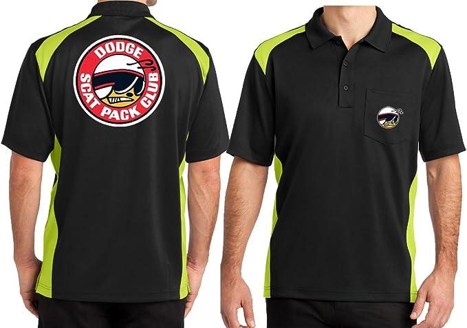 Mens Tall T-Shirt Dodge Scat Pack Club