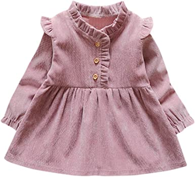 Mitlfuny Primavera Verano Vestido Ropa Niñas Bebé Princesa ...
