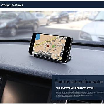TAOtTAO GPS Soporte de salpicadero de coche montaje para 3 - 6,8 pulgadas universal Smartphones: Amazon.es: Deportes y aire libre