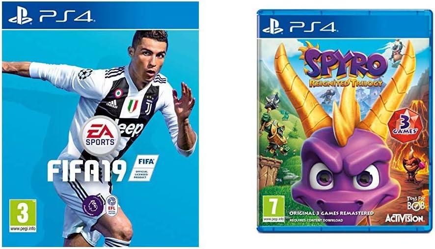 FIFA 19 + Spyro Trilogy Reignited - - PlayStation 4 [Importación ...