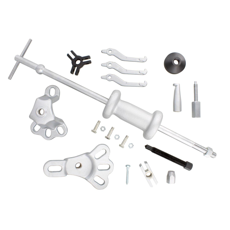 ABN Slide Hammer Puller Set Wheel Bearing Removal Tool w/Slide Hammer Attachments – Wheel Hub Puller Dent Repair Kit by ABN (Image #4)