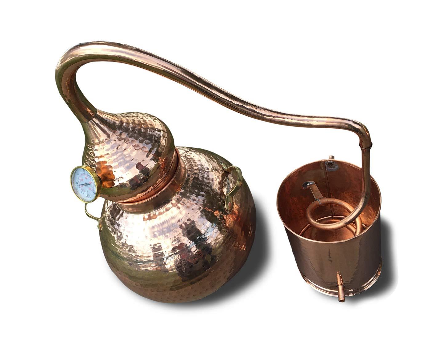 5 Gallon Copper Alembic Still