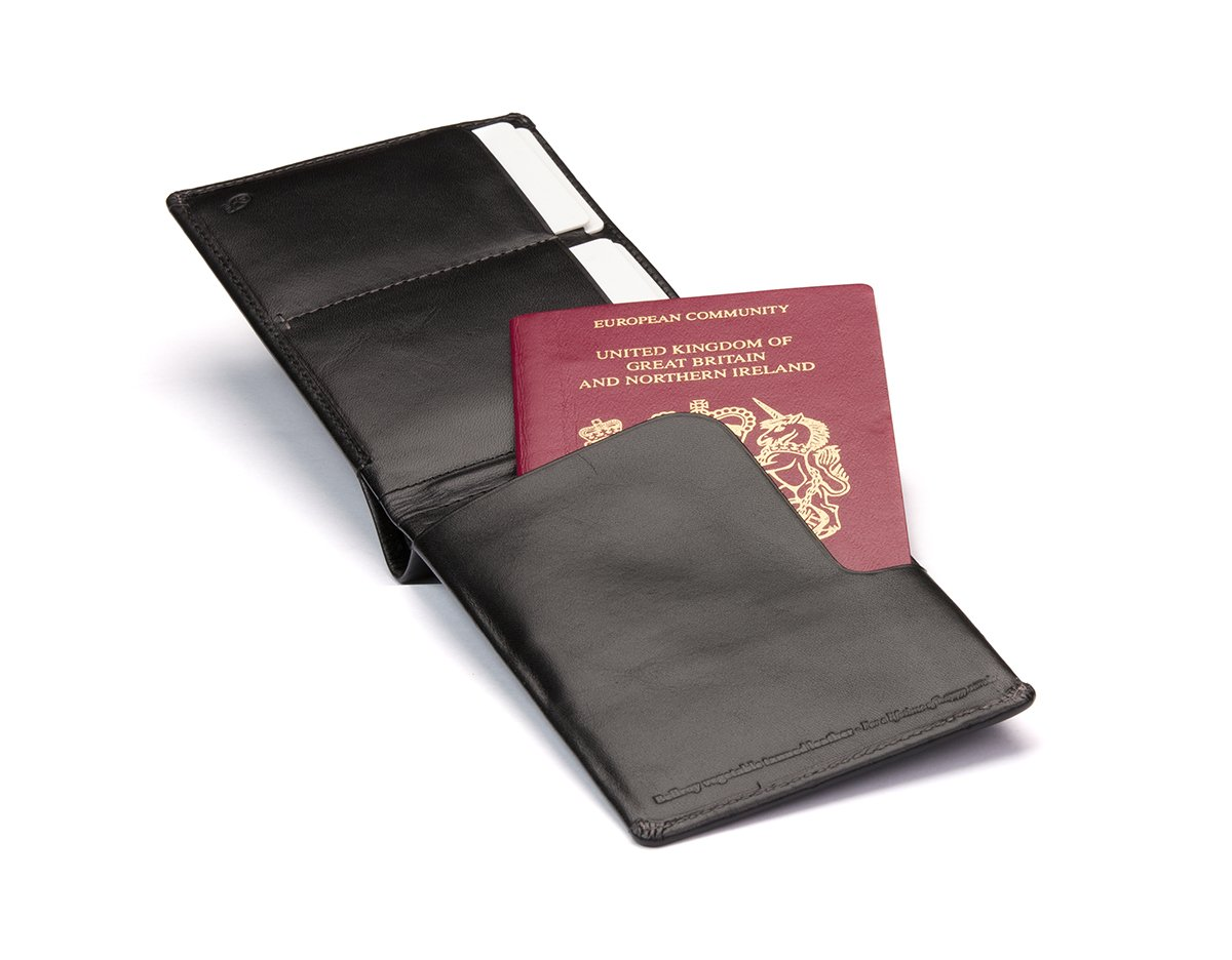Bellroy Leather Travel Wallet Midnight by Bellroy (Image #3)