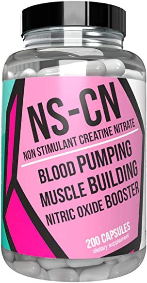 NS CN – Non Stimulant Creatine Nitrate – The only Creatine Nitrate Product on The Market That is 100 CN and Nothing Else.