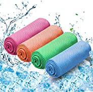 WONDAY Cooling Towel for Instant Cooling,Ice Sports Towels Travel Towel for Yoga,Gym,Travel, Golf,Camping, Fit