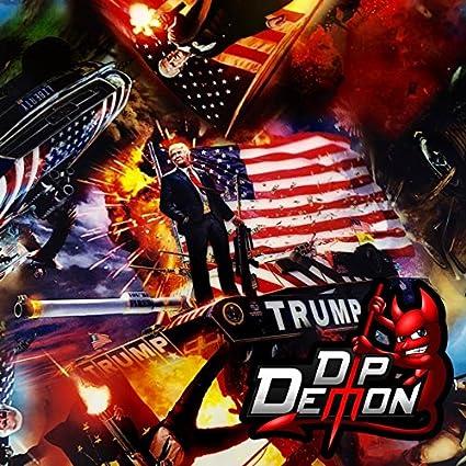 Amazon com: Hydrographic Film Trump President Donald Trump