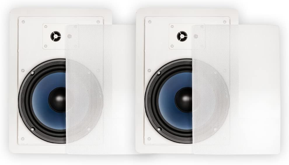 B00NC99LCE Blue Octave Home RW83 in-Wall Speakers (White) 61OcHVKEvUL.SL1000_