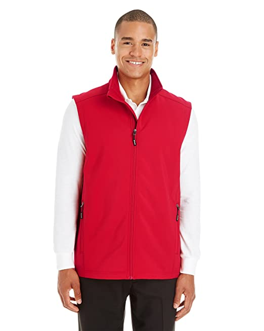 bef5c0bf5ac4 Men s Cruise Two-Layer Fleece Bonded Soft Shell Vest CLASSIC RED 850 4XL   Amazon.ca  Clothing   Accessories