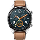 HUAWEI WATCH GT スマートウォッチ GPS内蔵 気圧高度計 iOS/Android対応 WATCH GT Classic/Silver ベルト/レザーシリコン 【日本正規代理店品】