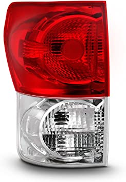 ACANII For 2007 2008 2009 Toyota Tundra Factory Style Tail Lights Rear Braek Lamps Replacement Driver /& Passenger Side