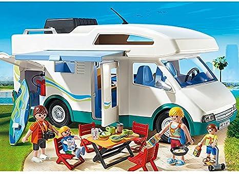 PLAYMOBIL 6671 Familien-Wohnmobil Summer Fun