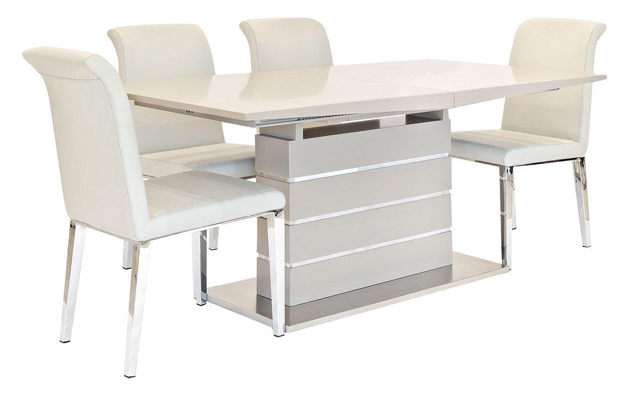 Febland - Mesa de Comedor Extensible con sillas de Comedor 10 ...
