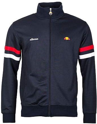 34ac9114a6668 ellesse Men's Roma Track Jacket, Blue, S at Amazon Men's Clothing store:
