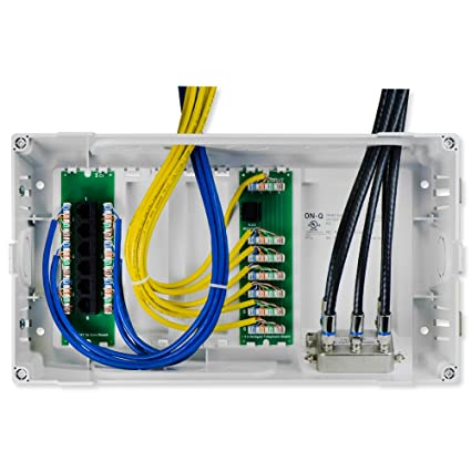 Swell On Q Legrand En0803 8 Inch Mdu Enclosure Kit With Cat5E Data Kit Wiring 101 Archstreekradiomeanderfmnl