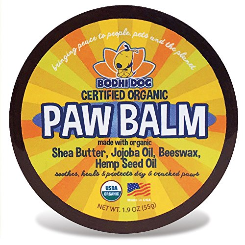 Cat Paw Care (Organic Paw Balm for Dogs & Cats | All Natural Soothing & Healing for Dry Cracking Rough Pet Skin | Protect & Restore Cracked and Chapped Dog Paws & Pads)