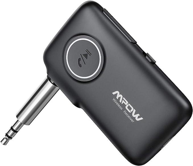 150 opinioni per Mpow Nuovo V5.0 Ricevitore Bluetooth con CSR Core, 15 Ore Playtime e 30m Gamma,