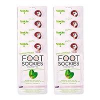 SpaLife Invigorating Spearmint & Tea Tree Oil Foot Sockies (8 Ct)