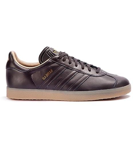 Adidas Leather Zapatillas Negro Premium Hombre Deporte Gazelle De 8nk0wOP