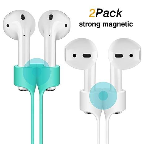 cuauco [Pack de 2] Correa Anti-perdida de adsorción magnética Compatible con Apple