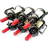 6 de la botella de vino