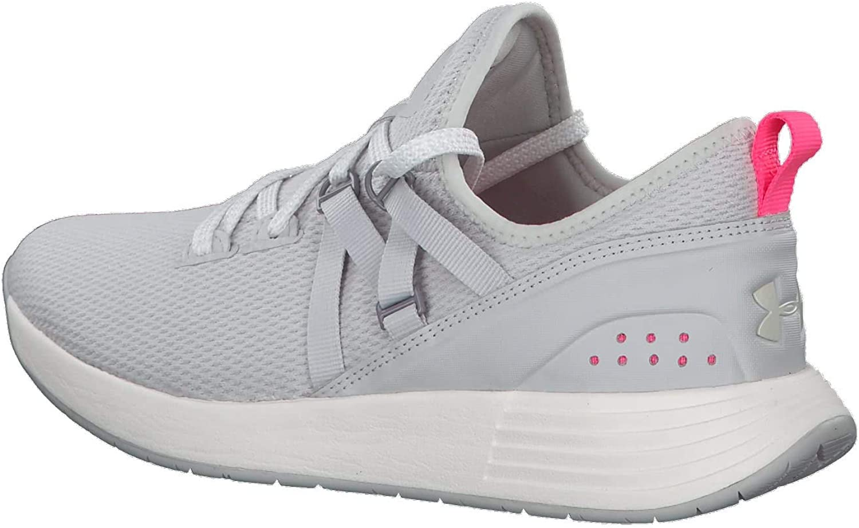 Under Armour Breathe Trainer, Zapatillas Deportivas para Interior para Mujer Gris Gray Flux White White 100 100 kmilk