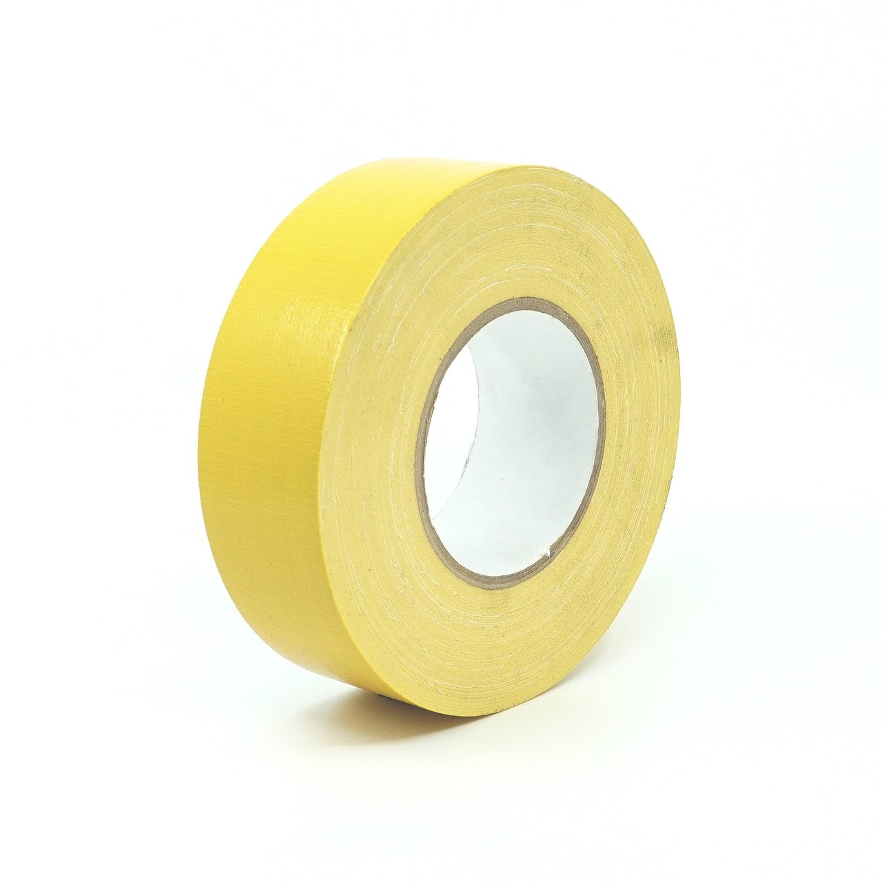 1'' (24mm) Schoolbus Yellow-Industrial Grade Duct Tape (67236)[Single Roll]