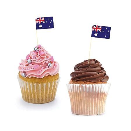 Banderitas australianas decorativas para cupcakes - Decoración ...