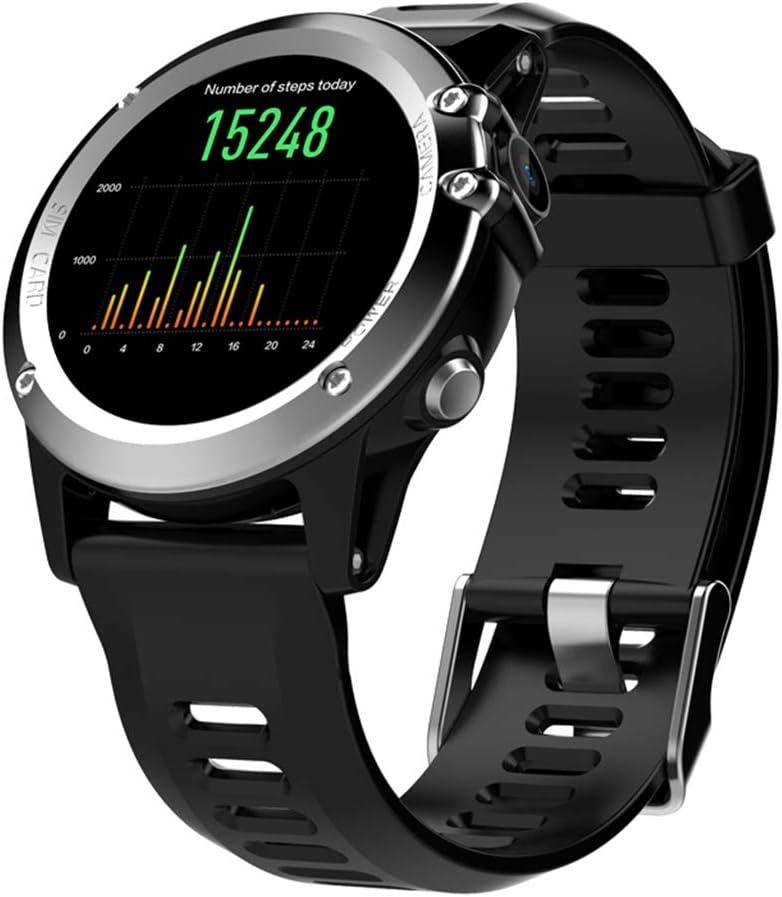 LCDIEB Reloj Deportivo Bluetooth Smart Watch WiFi 3G Smartwatch Soporte de Tarjeta SIM Android 4.4 Impermeable para iPhone Smartwatch Hombres Dispositivos portátiles