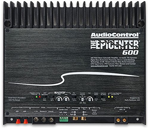 Audio Control THEEPICENTER600 Epicenter 600 Mono Subwoofer Amplifier