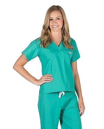 3d1261b0 Amazon.com: Blue Sky Scrubs Women's Surgical Scrub Top: Medical ...