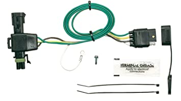 61OcOhfF6SL._SX355_ amazon com hopkins 41115 plug in simple vehicle wiring kit s10 trailer wiring harness at panicattacktreatment.co