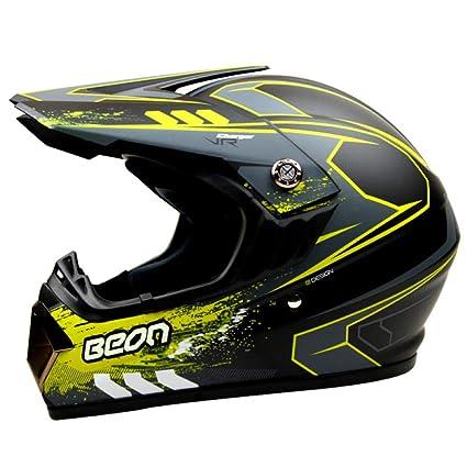 AEMAX, Casco De Motocross, BEON, Casco De Seguridad para Carreras, Gafas De