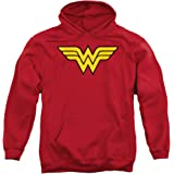 DC Comics Wonder Woman Logo Adult Pull-Over Hoodie