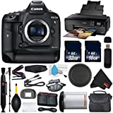 6Ave Canon EOS-1D X Mark II DSLR Camera (Body Only) International Version (No Warranty) + Epson SureColor P600 Inkjet Printer + 16GB & 32GB SDHC Class 10 Memory Card + Carrying Case Bundle