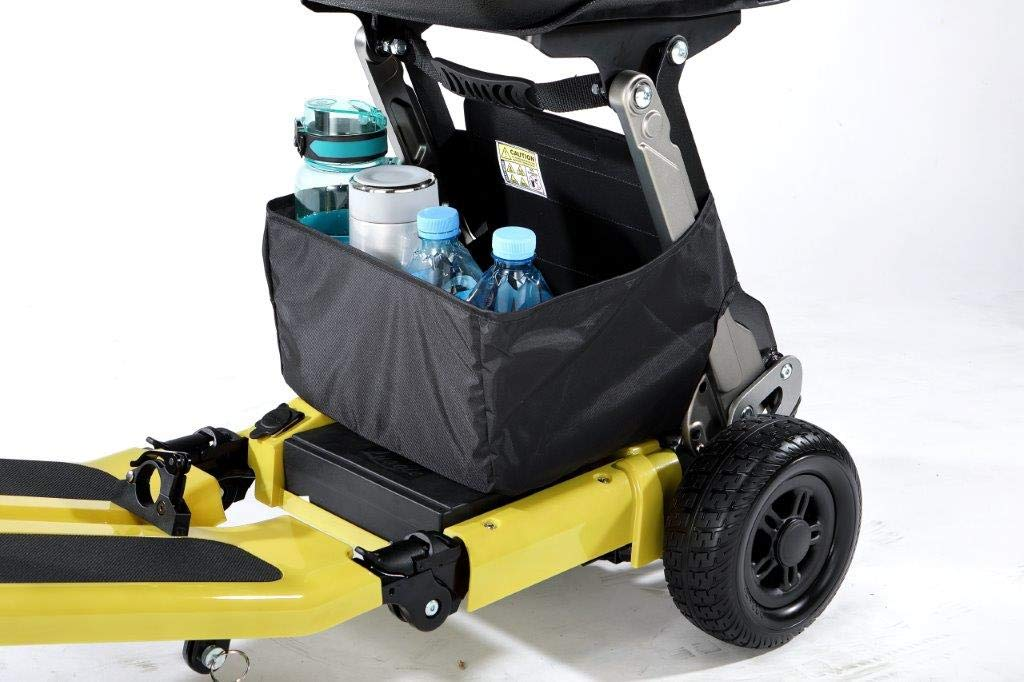 FreeRider USA Luggie Elite-Folding Mobility Scooter for Adults and Seniors, Lithium-ion Battery, Heavy Duty, Portable, Lightweight, Airline Approved, Champagne by FreeRider USA