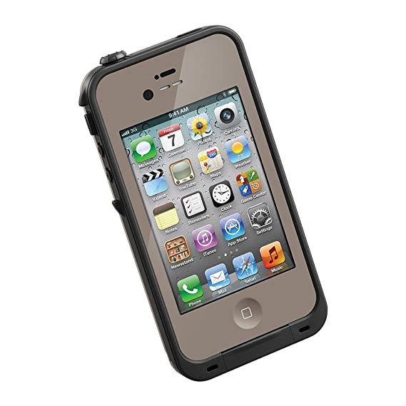 low priced f1c80 5ee51 Amazon.com: LifeProof FRE iPhone 4/4s Waterproof Case - Retail ...