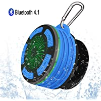 Altavoz Bluetooth Portátiles, Alitoo Inalámbrico Ducha Impermeable Speaker