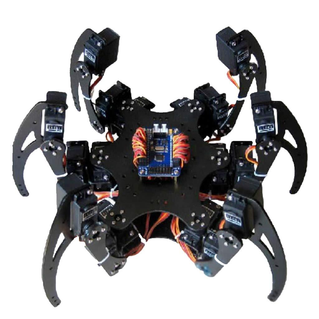 hasta un 60% de descuento Shiwaki Kit de Coche Inteligente Robot Robot Robot WiFi Araña DIY 6 Pies Accesorio - Sin Volante Disco de timón  precio mas barato