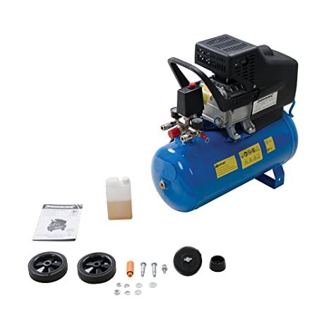 Silverline 324178 Compresor de Aire, 1500 W, 1 V, 24 l