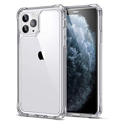 ESR Air Armor Case for iPhone 11 Pro Max Case, [Shock,Absorbing]  [Scratch,Resistant] [Military Grade Protection] Hard PC + Flexible TPU  Frame, for The