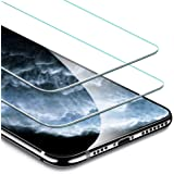 ESR iPhone 11 Pro Max/iPhone Xs Max ガラスフィルム 【旭硝子製5倍強化 2枚セット】 アイフォン11 Pro Max/Xs Max液晶保護フィルム 6.5インチ 業界最高硬度9H / 高光透過率 / 3D Touch/飛散防止/指紋防止