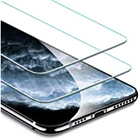 ESR Screen Protector Compatible for iPhone 11 Pro Max,iPhone XS Max [2 Pack] [Easy Installation Frame] [Case Friendly], Premium Tempered Glass Screen Protector for iPhone 6.5 Inch (2019)