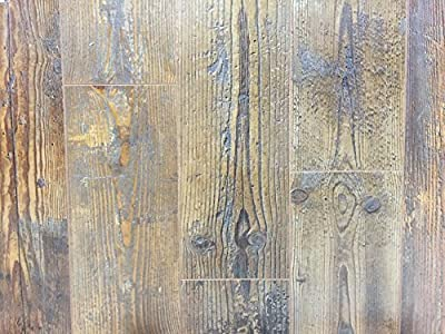 12mm Wood Laminate Flooring - Distressed Chestnut, Model: 279-1, Outdoor/Garden Store, Repair & Hardware