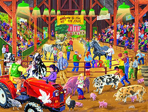 SunsOut 4 H Fair 300 Piece Jigsaw Puzzle