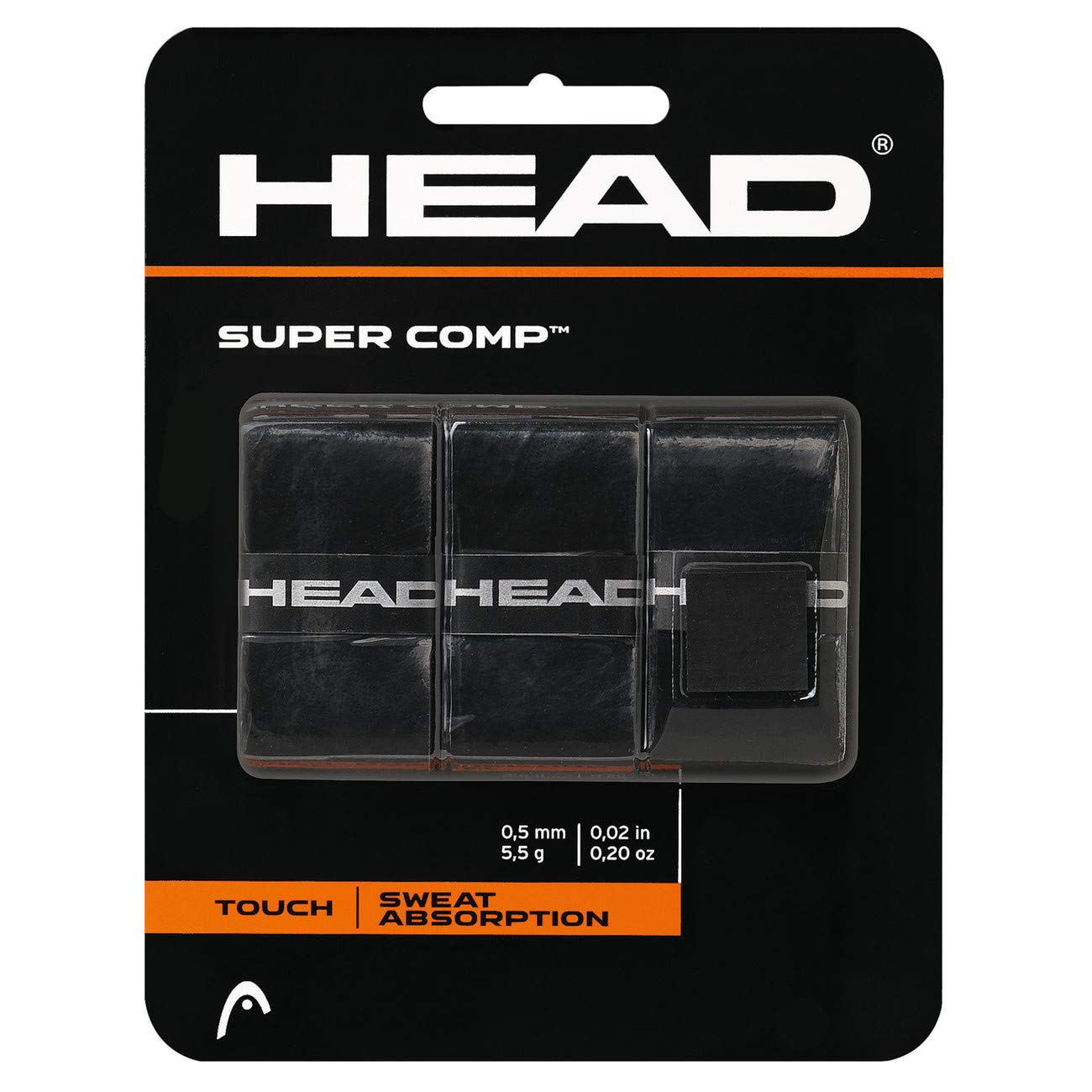 HEAD Super Comp Overwrap Tennis Racket Grip