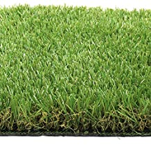 Synturfmats Synthetic Turf Artificial Grass Lawn 5'x5' Rubber Backed With Drainage Holes