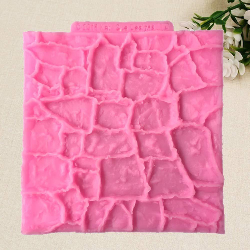 putdWH99 - Molde para decoración de Tartas, diseño de Piedras ...