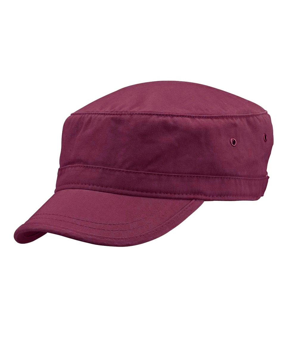 fba9006f950 Galleon - ECOnscious 100% Organic Cotton Twill Corps Hat - Bordeaux