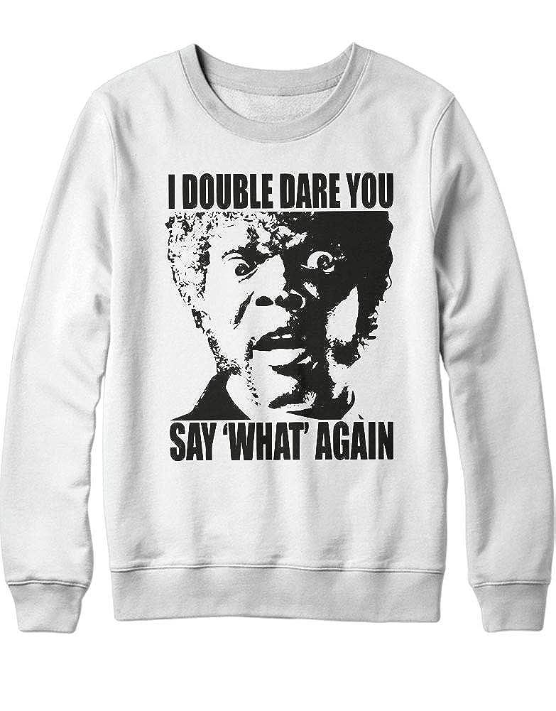 HYPSHRT Hombre Sweatshirt I Double Dare You C000335: Amazon ...